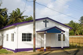 Editorial Revival Tabernacle Church Corn Island Nicaragua Centra — Stock Photo