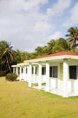 Bungalow cabanas rental Sally Peach beach — Stock Photo