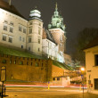 Royal Road leading to Wawel Castle — Stock Photo