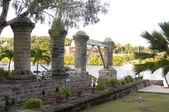 Pillars Nelson's Dockyard — Stock Photo