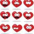 Funny Heart — Stock Vector