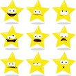 Funny Star — Stock Vector