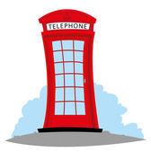 English Telephone — Stock Vector