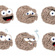Funny Brain — Stock Vector #14038319