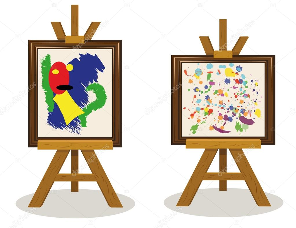 Logo sobre o tema da arte moderna