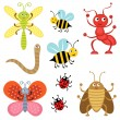 Cute bugs — Stock Vector #12849237