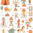 Colorful circus set — Stock Vector