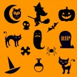Halloween icons — Stock Vector #12849817