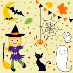 Halloween fun set — Stock Vector #12849818