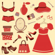 Royalty-Free Stock Vector Image: Women accessories