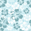 Royalty-Free Stock Vector Image: Hibiscus seamless background