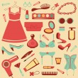 Fashion collection — Stock Vector #19465355