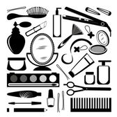 Hairdressers collection — Stock Vector