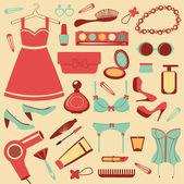 Fashion collection — Stock Vector