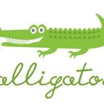 Cute alligator — Stock Vector #21515737