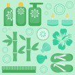 Royalty-Free Stock Imagen vectorial: Spa collection