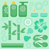 Spa collection — Stock Vector