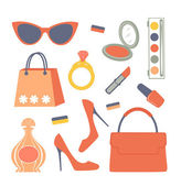 Fashionable set — Stock Vector