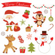 Christmas collection — Stock Vector