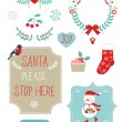Cute Christmas clipart — Stock Vector #37932171
