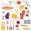 Colorful kitchen collection — Stock Vector #41124849