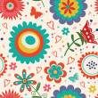 Colorful floral pattern — Stock Vector #43001023