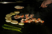 Hibachi Grill — Stock Photo