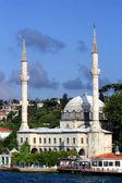 White Mosque of Bosporus — Foto de Stock