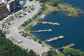 Lake Kawaguchi — Stock Photo