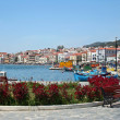 Samos Port,Greece - Stock Photo