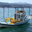 Greek Fishing Boat — Stock Photo