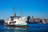 Ferries of Istanbul,Turkey — Stock Photo