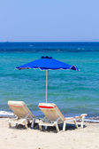 Relaxing Beach View from Kos,Greece — Stock Photo