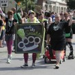 Circle City Socialites Roller Derby Team at Indy Pride — Stock Photo