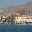 Old Greek Orthodox Church and Kalymnos Port — Stock Photo #29622929