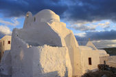 Panagia Paraportiani Church of Mykonos,Greece — Stock Photo