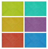 Colored envelopes — Stock Photo