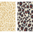 Stock Photo: Set of2 detailed animal print materials