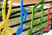 Kindergarten fence — Stock Photo