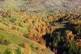 The highest mountain village in the Romanian Carpathians — Stock Photo