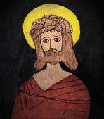 Jesus Christ painting — Stock Photo