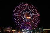 Cosmo World Ferris Wheel — Stock Photo