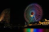 Cosmo Clock 21 ferris wheel  — Stock Photo