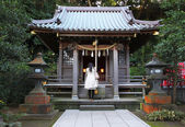 Shinto shrine in Kamakura, Japan. — Foto Stock