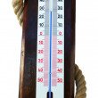 Stock Photo: Outdoor thermometer