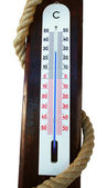 Outdoor thermometer — Stock Photo