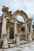 Temple of Hadrian, Ephesus — Stock Photo
