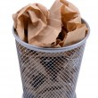 Waste bin — Stock Photo