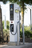 Electric car charger — Stock Photo