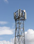 Mobile phone tower — Stock Photo